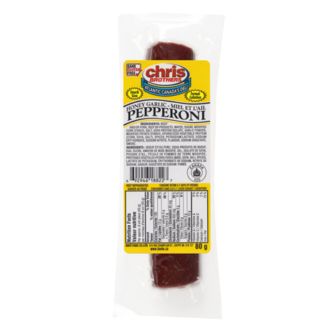 Honey Garlic Pepperoni - Snack Size