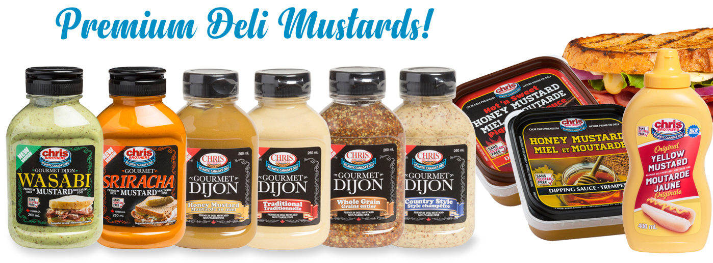 Chris Brothers Premium Deli Mustards