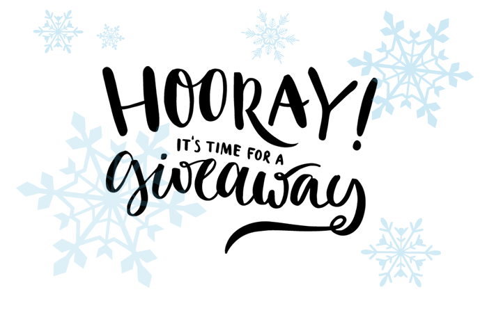 Hooray! it's time for a giveaway