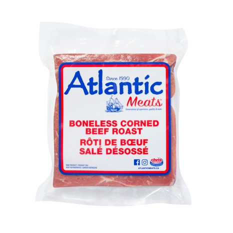 Atlantic Meats Boneless Corned Beef Roast