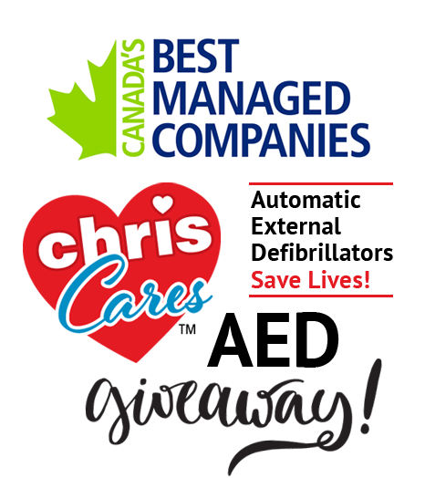 Chris Cares AED Giveaway-AEDs save lives