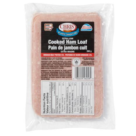 Cooked Ham Loaf