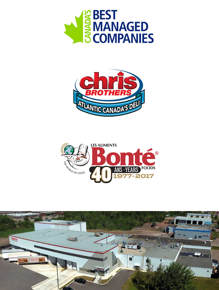 Chris Brothers logos and building
