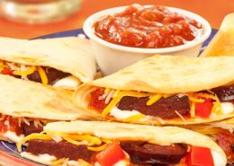 Chris Brothers Fried Pepperoni Quesadilla Recipe