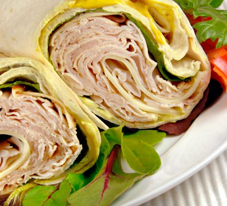 Chris Brothers Turkey Wrap Recipe