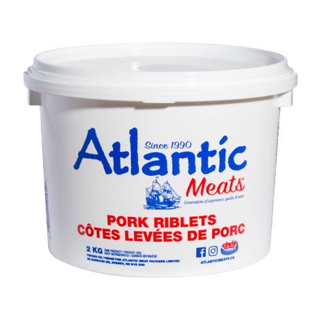 Atlantic Meats Pork Riblets-2kg