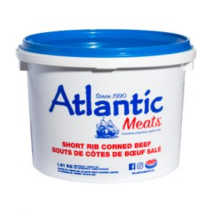 Atlantic Meats Short Rib Corned Beef-1.81kg