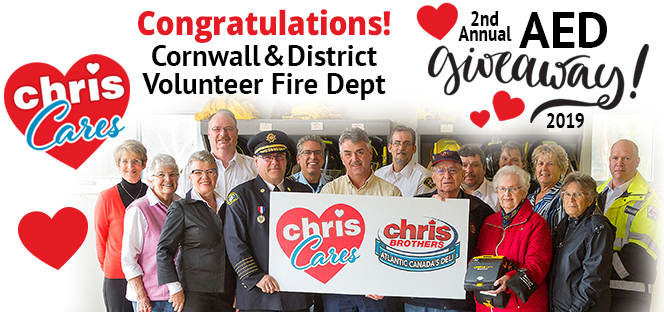 Chris Brothers AED Giveaway