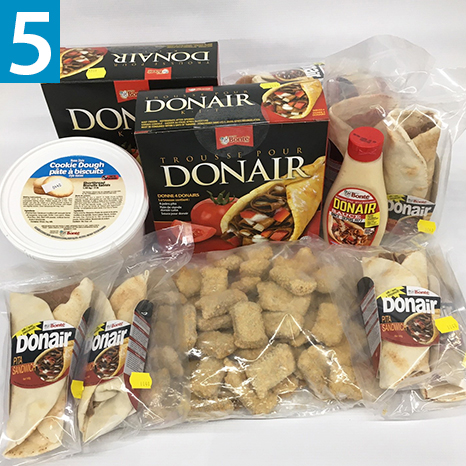 Easy Meal Snack Pack