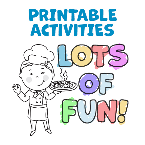 Printable Activities Lots of Fun